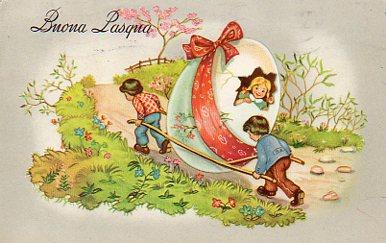 Cartoline d 39 epoca di buona pasqua vitoronzo pastore for Cartoline auguri di buona pasqua